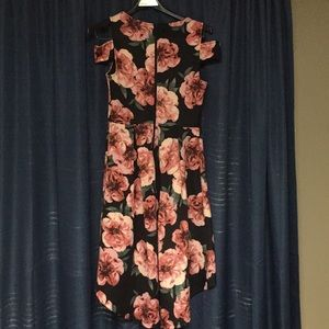 Charlotte Russe Dresses - Floral print high low dress